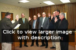 2012 Board of Supervisors Swearing-In Ceremony